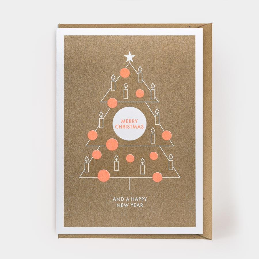 MERRY CHRISTMAS TREE (RISO)