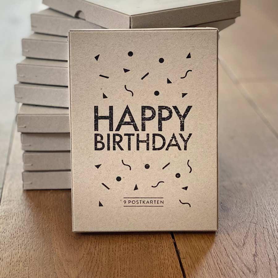 HAPPY BIRTHDAY (Geschenkbox)